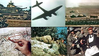 "Color photos of the 354th Fighter Group from the video ""The 354th Fighter Group ""Mustang Pioneers"" Color Scrapbook"""